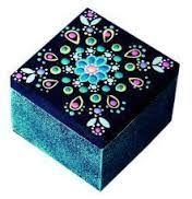 Resultado de imagen para tecnicas para pintar cajas decoradas