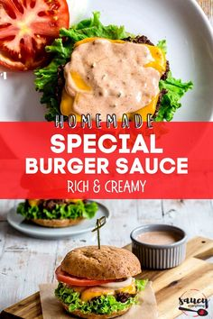 My Best Burger Sauce Recipe is a delicious, gourmet addition to any burger and makes an amazing dip for fries, veggies, and more! You will want to try this easy sauce for burgers with everything. Ready in minutes using simple ingredients! Good Burger Sauce Recipe, Special Sauce Recipe, Best Burger Sauce, Burger Sauces Recipe, Easy Sauce Recipe, Sauce Recipes, Roast Beef Sandwiches, Steak Bites, Food Hacks