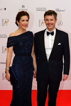 Danish Royal attends the Germany Entertainment Bambi Award on November 13, 2014 in Berlin