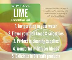 Let's talk about LIME Essential Oil! » lifestyle blog
