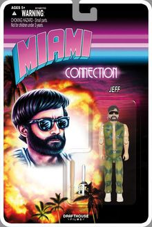 Miami Connection action figures sadly aren't real photo