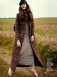 new apache: romy schönberger by paul bellaart for glamour spain september 2012