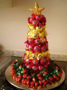 Aprenda a fazer uma árvore de natal que vai te dar água na boca Confira: – Receitas Grátis