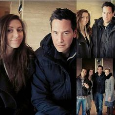 #Constantine   Keanu Reeves(John) & either friends,family or fans..
