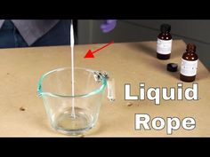 In this video I show you a cool experiment synthesizing a nylon polymer from two different liquids. Some have called this the nylon rope trick. Airsoft Grenade, Spiderman Web, Magic Sand, Cool Experiments, Little Shop Of Horrors, Preschool Science, Cool Technology, Science Projects, Kids Learning