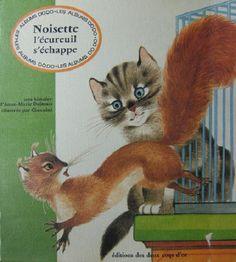 Noisette l'écureuil s'échappe