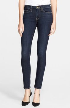 Frame Denim 'Le Skinny de Jeanne' Jeans (Queensway) available at #Nordstrom