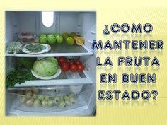 Cómo conservar la fruta más tiempo || ¿Como mantener la fruta en buen estado? - YouTube
