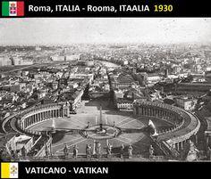 Confini amministrativi - Riigipiirid - Political borders - 国境 - 边界: 1930 / 1946 / 2005 IT-VA Itaalia-Vatikan Italia-Va...