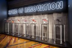 Art Direction   Environment Design - Brand Experience store in Atlanta for Nike. Chock full of local storytelling, reclaimed materials, and ATL bling. Favorite part: a partnership with the Butler Street Community Development Center who donated...