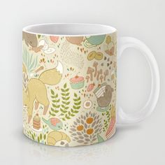 Animal's Tea Party Mug by Teagan White - $15.00