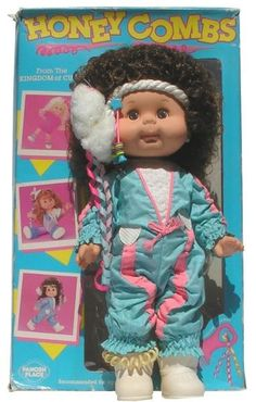 Honey Combs doll. My sis had this same exact one and I replaced it for her a few years ago. She was shocked!