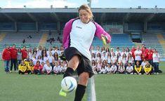 Le Gare della Femminile Riccione Calcio e intervista al portiere Chiara Bagli