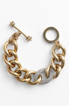 Juicy Couture 'Luxe Rocks' Pave Link Bracelet
