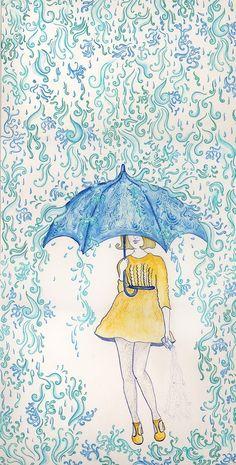 A Kindred Spirit — Rain, rain…. Don't go away! | ☂ Singin' in the...