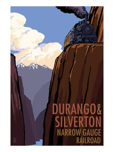 Durango and Silverton Narrow Gauge Railroad, c.2009 Art Print