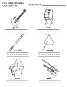 string instrument coloring pages - Triangle Instrument Coloring Page