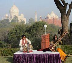 Enjoy Indian Classical Music overlooking Taj Mahal | #MaharajasExpress