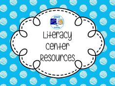 Literacy Center Resources Pinterest Board