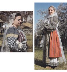 Valcea, Oltenia (Wallachia) Folk Costume, Costumes, Folk Clothing, Victorian, Textiles, Traditional, People, Embroidery, Beautiful