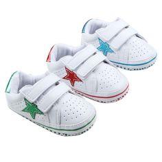 981f5760 Mocasines de Cuero de LA PU Primeros Caminante Del Bebé Zapatos de Bebé  Recién Nacido Sneakers Zapatos Del Pesebre Del Niño Niños Niñas Primeros  Caminante ...