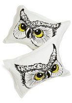 Owl Did You Sleep? Pillow Sham Set | Mod Retro Vintage Decor Accessories | ModCloth.com