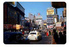 Times Square 1952, New York by stevesobczuk, via Flickr