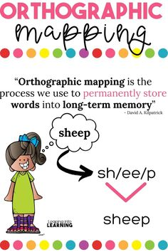 Orthographic Mapping - Leaping Into Learning