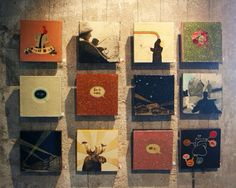20x20. Veronica Normann Jensen Art