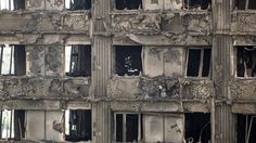 UK prime minister Theresa May has pledged million to replace dangerous cladding on social housing blocks, one year after the Grenfell Tower fire. High Rise Apartments, Social Housing, Image Archive, Fire Safety, Dezeen, Being A Landlord, Change The World, Facade, Architecture Design