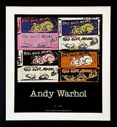 Modern Vintage French Gallery Poster, Andy Warhol in Paper/Wood Andy Warhol, Vintage Artwork, Vintage Posters, Bedroom Posters, Modern Frames, Framing Photography, Exhibition Poster, Contemporary Wall Art, Signs