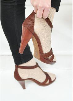 Sandales Charlie - Sézane - #PERFECTshoes #pas-chassés socks