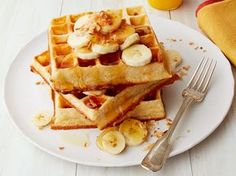 Get this all-star, easy-to-follow Overnight Belgian Waffles recipe from Food Network Magazine.