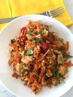 The Cabbage and Carrot Salad with Ginger Almond Dressing – Dr. Alan Christianson
