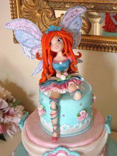 Winx Bloom Cake Topper