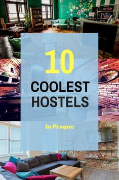 The Ultimate List of the coolest and best hostels in Prague, Czech Republic. In this guide, you will find comfortable and cheap hostels, where I always return; a helpful list for your next trip to Prague. 10 great hostels for backpackers and those wishing to immerse themselves in the  travel community. They are all unique and have a side of magic, so pick your favorite hostel to stay in Prague  #hostel #hostellife #prague #cz #czechrepublic #europe #backpacker #backpacking #backpackingeurope Travel Through Europe, Europe Travel Tips, Budget Travel, Road Trip Packing, Backpacking Europe, Beautiful Hotels, Most Beautiful Cities, Hostels, Prague Travel