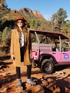 Pink Jeep trip at Sedona, Arizona Sedona Arizona, Desert Aesthetic, Pink Jeep, Nature Photography, National Parks, Hipster, Style, Getting To Know, Destiny