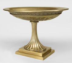 French Empire accessories centerpiece/compote bronze