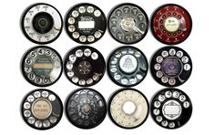 Vintage Rotary Phone Dials Knobs | Pulls - No. 815T19