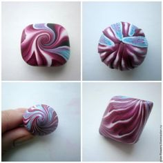 9 Exciting Swirlie Combos  ~ Polymer Clay Tutorials