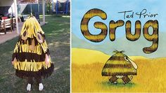 The best DIY book week costumes: Grug| Mum's Grapevine