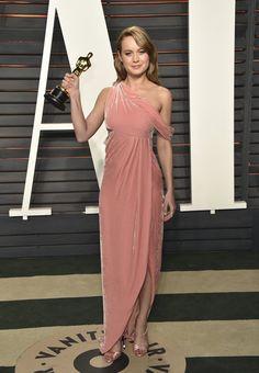 Pin for Later: Die Outfits der Vanity Fair Afterparty waren fast noch besser als die Kleider der Oscars Brie Larson in Monse