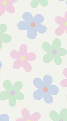 Hippie Wallpaper, Retro Wallpaper, Flower Wallpaper, Cartoon Wallpaper, Iphone Wallpaper Tumblr Aesthetic, Iphone Background Wallpaper, Plakat Design, Cute Patterns Wallpaper, Pretty Wallpapers