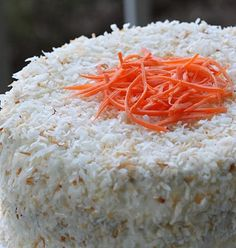 Tropical Carrot Cake with Coconut-Cream Cheese Frosting (The Pastry Queen-Rebecca Rather)