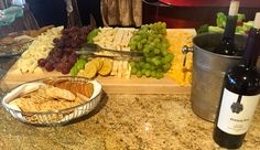 Wow nothing better than a cheese platter and some wine! #wine #cheese #italian #food
