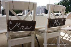 Wedding Decorations - Backyard wedding - DIY