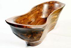 Wooden Bathtub MANTA