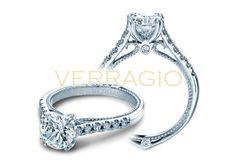 COUTURE-0414R engagement ring from The Couture Collection of diamond engagement rings by Verragio