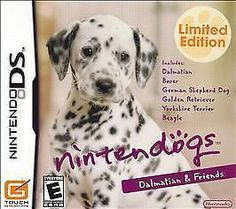 Nintendo DS Nintendogs Dalmation & Friends (Manual, box and game) Nintendo Ds, Nintendo Games, Handheld Video Games, Win Money, Video Game Names, Little Games, Ds Games, Training Your Puppy, Dogs Golden Retriever