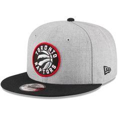 Toronto Raptors New Era 2-Tone 9FIFTY Adjustable Snapback Hat - Heathered Gray/Black - $27.99
